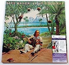 Dave Mason Signed LP Record Album Split Coconut w/JSA AUTO