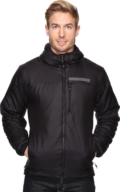 adidas Outdoor Men's Terrex Ndosphere II Flex Hooded Jacket, Black, Medium