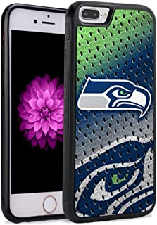 Seahawks iPhone 8 Plus Case iPhone 7 Plus Case Silicone Gel Rubber TPU Shock Absorption Bumper Cover Shell for iPhone 8 Plus/7 Plus (5.5