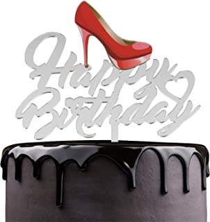 stiletto shoe cake toppers