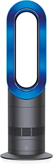 Dyson AM09 Fan Heater, Iron/Blue by Dyson