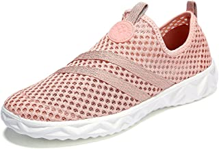 Womens Breathable Mesh Water Shoes Walking Sneakers
