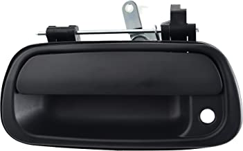 Noa Store Door Handle Compatible with Toyota Tundra Truck 00-06 Rear Tailgate Textured Black 69090-0C010