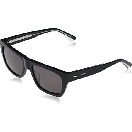 Calvin Klein EYEWEAR CK20539S-001 Gafas, Black/Solid Smoke, 56-18-145 para Hombre