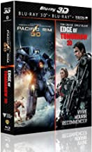 Pacific Rim 3D + Edge of Tomorrow 3D [Combo Blu-ray 3D + Blu-ray + Copie digitale]