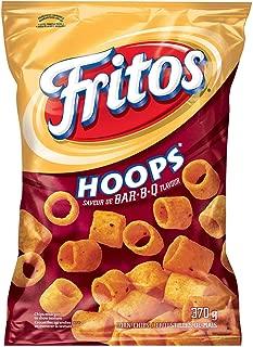 Frito Hoops BBQ Bar B Q Large 370g Bag from Canada