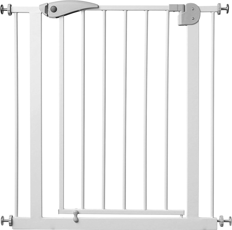 Barrera de Seguridad de niños para puertas y pasillos con cierre automático