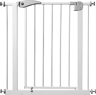 comprar comparacion Babify Barrera de Seguridad de niños para puertas y pasillos con cierre automático- color blanco