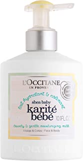 L'Occitane Shea Baby Lovely & Gentle Moisturizing Milk Lotion, 10.1 Fl Oz