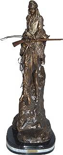Jumbo Mountain Man by Remington Bronze Statue - Size: 13