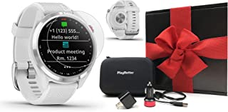 $329 » Garmin Approach S42 GPS Golf Watch Gift Box Bundle | Includes Screen Protectors, Car/Wall Adapters & Case | Color Screen, ...