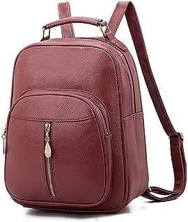 YALADLY Backpack Tide Shoulder Slung Girl Bag New Mini Backpack Female Korean Version of The Dual-use Wild Bag (Color : Pink)
