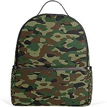 COOSUN Sommer-Rucksack mit Camouflage-Muster, leicht, Segeltuch, für Jungen und Mädchen