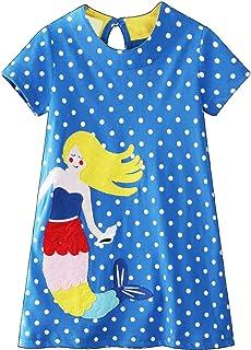 a96bd4689 Amazon.es: Vestido De Corte Sirena - Niña: Ropa