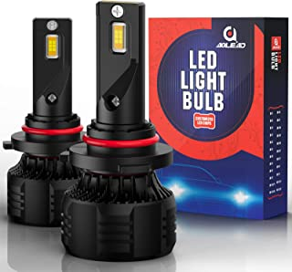 AOLEAD 9005/HB3 LED Headlight Bulbs, 110W 20000 Lumens Super Bright 6000K CSP Chips Conversion Kit Adjustable Beam