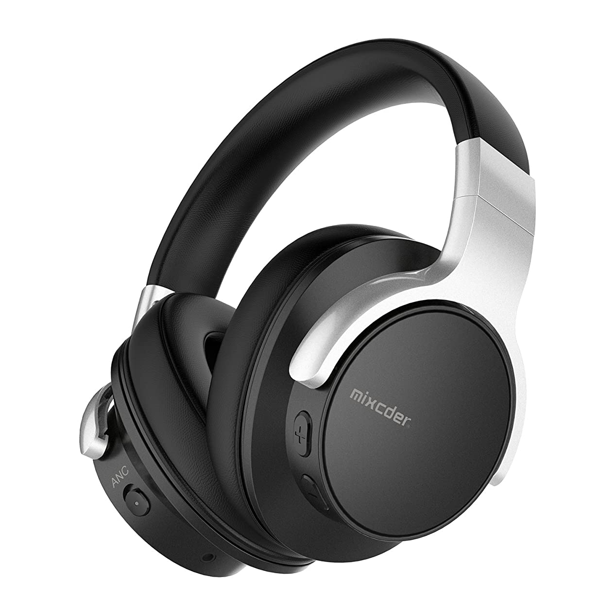 先住民複製する放置Mixcder E7 ノイズキャンセリング Bluetooth ヘッドホン 密閉型 高音質 ケーブル着脱式 20時間再生 マイク付き ハンズフリー通話可能 PC/スマートホン/TVなどに対応 ワイヤレス ヘッドセット
