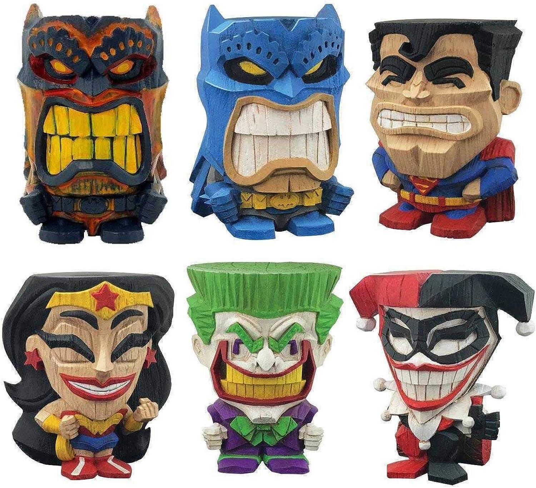 Unbekannt DC Comics Teekeez Vinyl Figures Series 1 Display 8 cm (12) Cryptozoic Mini