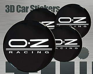 Oz Racing 4/unidades ★ ★ 55/mm Pegatinas Emblema para llantas Buje Tapa Tapacubos