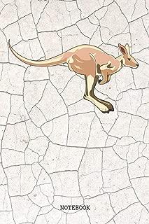 Notebook: Funny Australian Kangaroo Planner / Organizer / Lined Notebook (6
