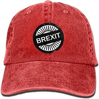 Shenigon Brexit Vintage Cowboy Baseball Caps Dad Hats Natural