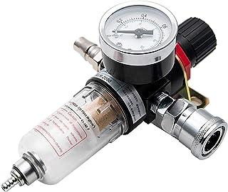 Riloer 1/4'Druckluftdruckregelfilter, Druckluftfilter des Luftwerkzeugsystems, AFR 2000