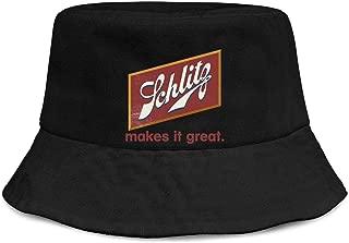schlitz bucket hat