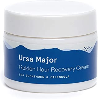 Ursa Major Golden Hour Recovery Cream | Natural Face Moisturizer with Calendula and Sea Buckthorn | Vegan, Cruelty-Free, Non-toxic | 1.57 ounces