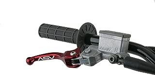 ASV Inventions BRC510-SS C5 Sport Silver Shorty Brake Lever for Honda