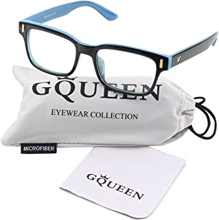 GQUEEN 201584 Modern Fashion Rectangular Thick Frame...