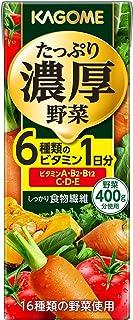 カゴメ たっぷり濃厚野菜 200ml ×24本