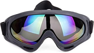 Sexy_Forever Ski Goggles Winter Snow Sports Motorcycle Goggles UV Protection Anti-Fog Ski Safety Outdoor Glasses for Cycling,  Climbing