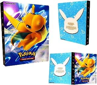 30 Pagine-120 Tasche-Contiene 120 carte singole o 240 carte doppie Album per carte Pokemon schiena contro schiena Raichu Album per conservare le carte collezionabili