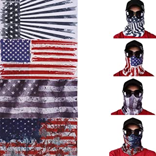 Windproof Seamless Skull Face Mask Bandana for Riding Cycling Motorcycle Multifunctional Headwear