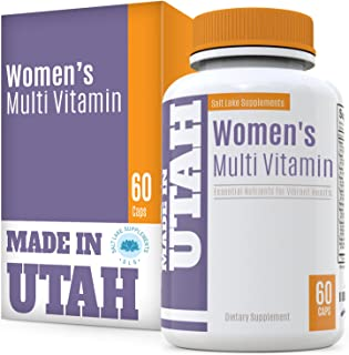 Multivitamins for Women with 20 Essential Vitamins & Minerals, and 18 Other Natural Antioxidants to Boost Your Immune Syst...