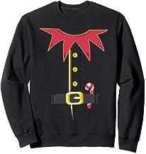 Santa's Elf Costume Funny Christmas Holiday Gift Sweatshirt