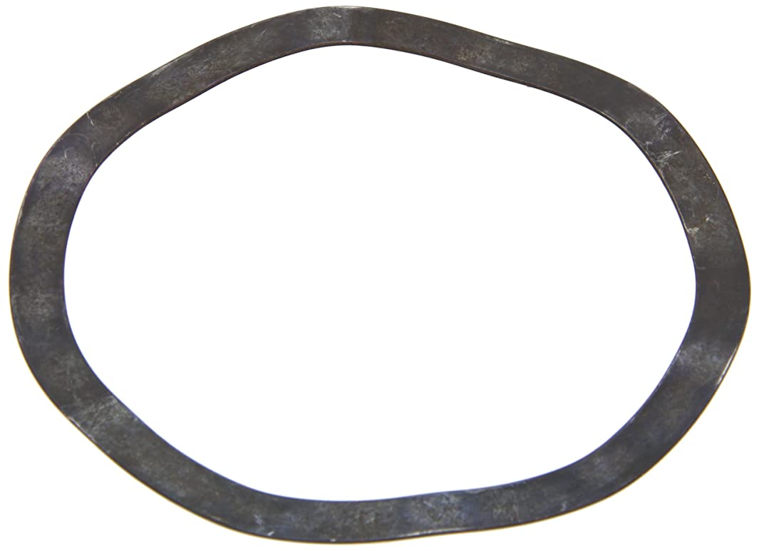 Compression Type Wave Washer, Carbon Steel, 6 Waves, Inch, 4.331