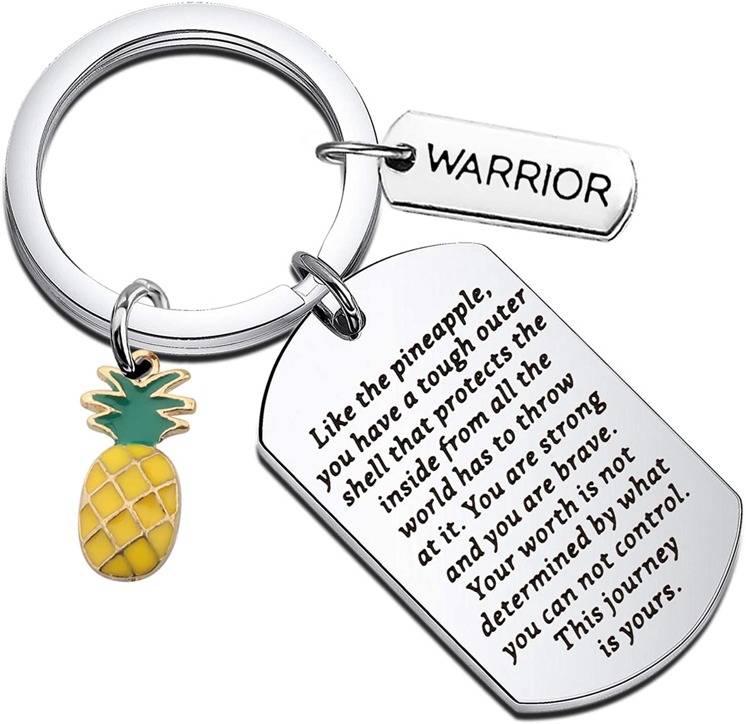WSNANG IVF National products Pineapple Gift This Keychain Is Yours Journey supreme