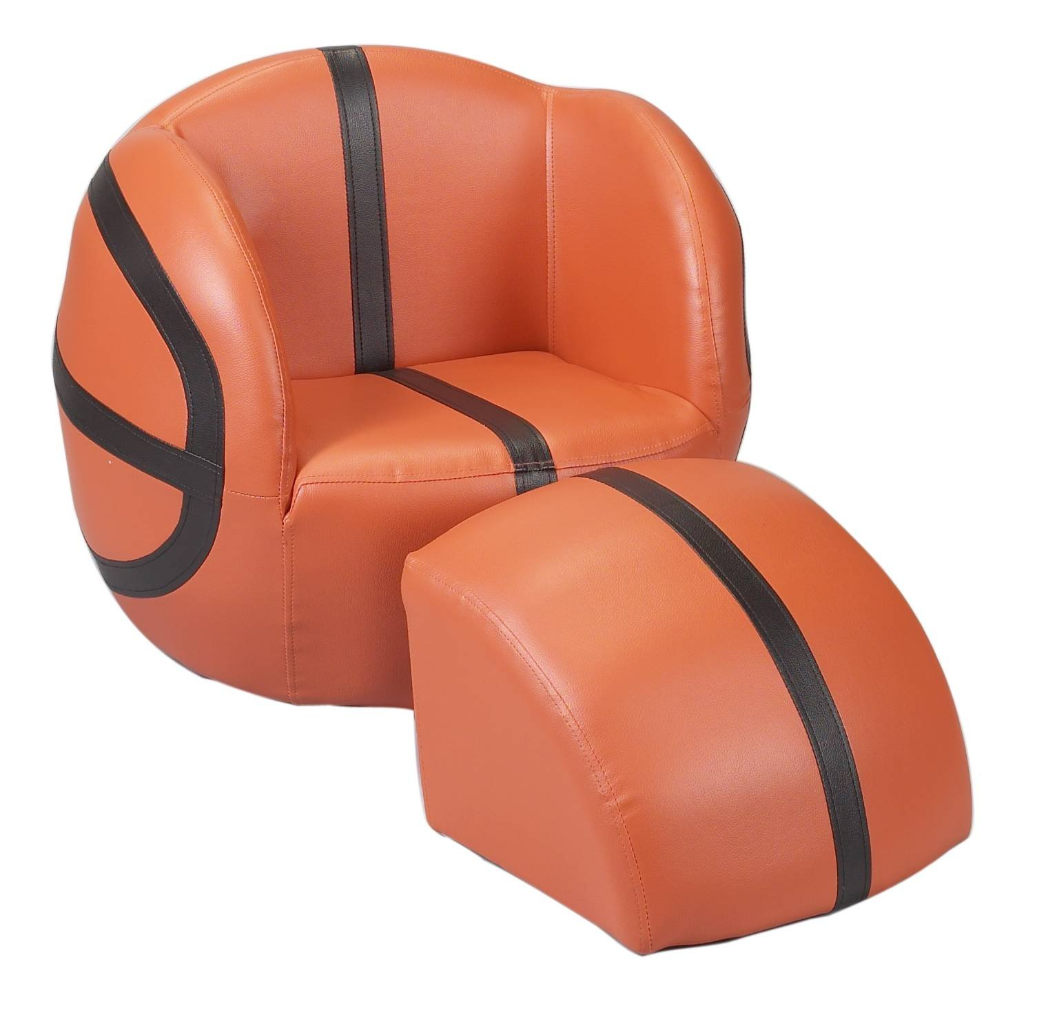 Gift Mark Chair and Ottoman Basketball  sc 1 st  Amazon.com : basketball chairs - lorbestier.org