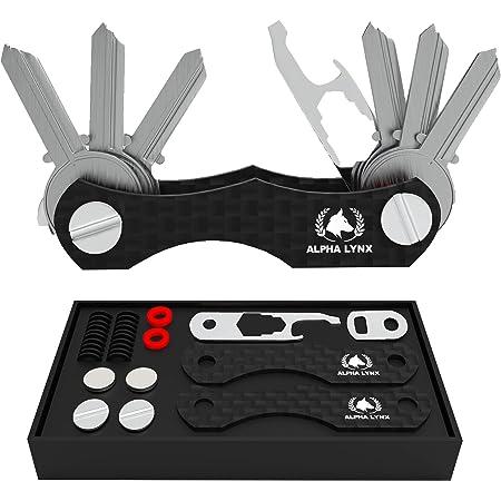 flintronic Key OrganizerKeychain Genuine LeatherPocket Smart Key Holder