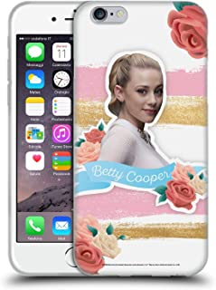 Official Riverdale Betty Cooper Graphics Soft Gel Case Compatible for iPhone 6 / iPhone 6s