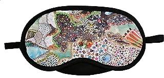 منامة قناع وغطاء للعين خامات متعددة متعددة الالوان للنوم والسفر والرحلات للجنسين