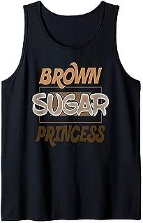 Brown Sugar Princess Black Pride Gift Tank Top
