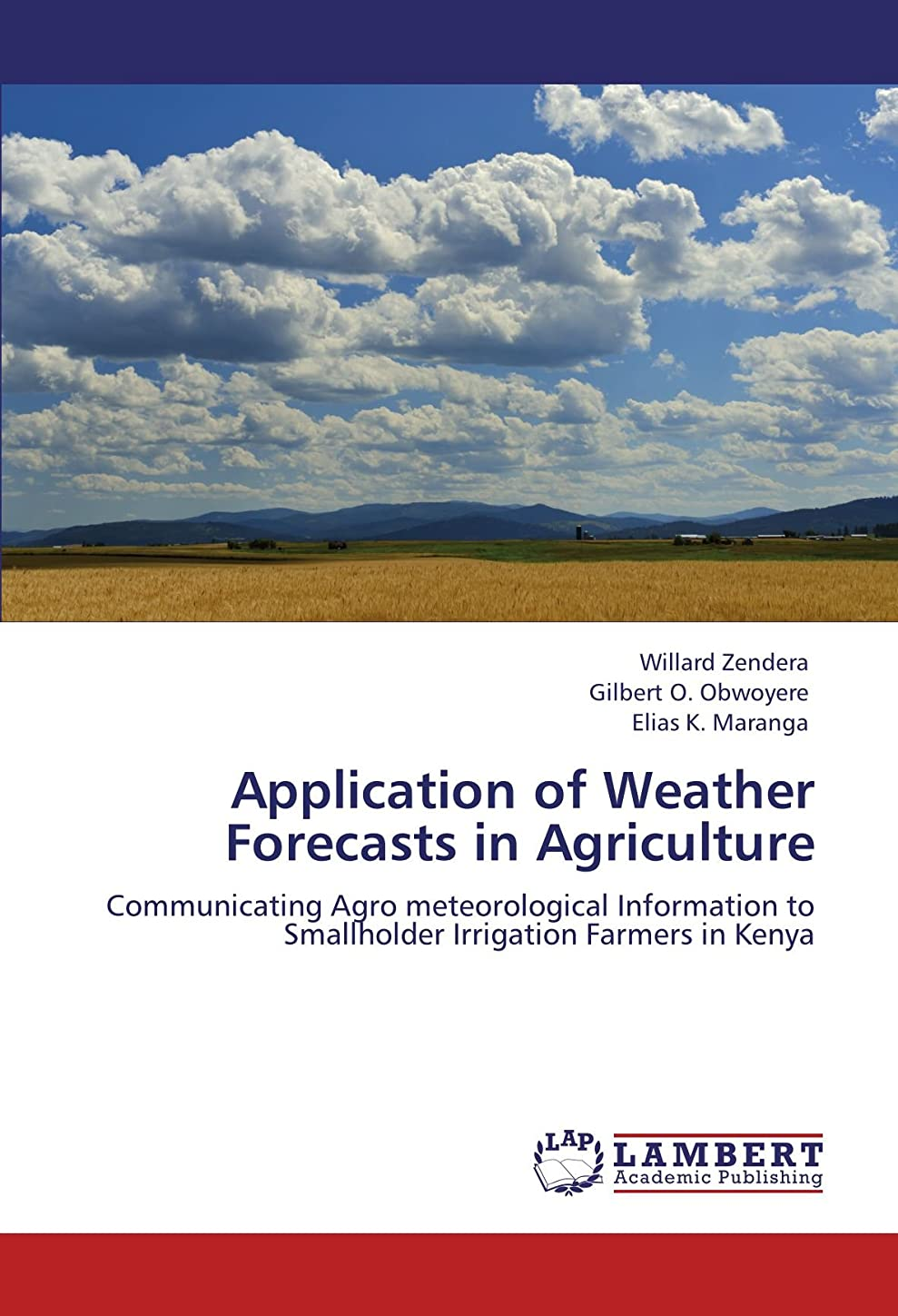 合わせて開梱興奮するApplication of Weather Forecasts in Agriculture