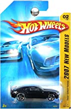 Hot Wheels 2007 New Models #2 Chevy Camaro Concept Black #2007-2 Collectible Collector Car Mattel 1:64 Scale