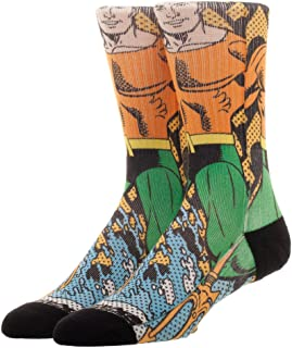 Male Superheroes Adult Socks