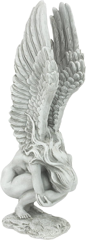 Interpet Design Toscano-Escultura en Forma de ángel (tamaño Mediano), Standard, NG33765