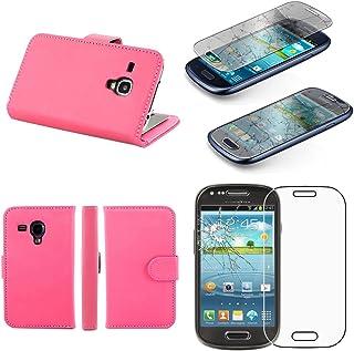 ebestStar – kompatibel med Samsung Galaxy S3 mini fodral GT-i8190, i8190N plånboksfodral PU-läder flip fodral med kortplat...