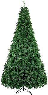 BEAMNOVA Artificial Christmas Tree 9 Feet Green Unlit w/Stand 2028 Tips, Ornaments NOT Included
