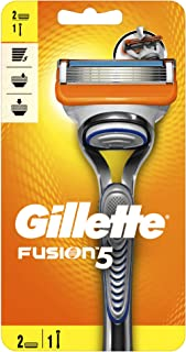 Gillette Fusion Men's Razor Handle + 2 Blades