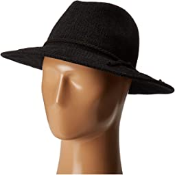 CTH8078 Knit Fedora with Braided Faux Suede